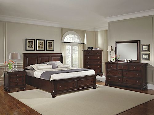 Mattress Stores Tyler Tx Check out the deal on Reflections Dark Cherry King Bedroom Set at ...