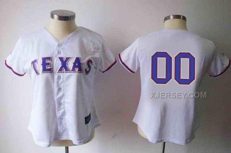 http://www.xjersey.com/texas-rangers-blank-white-women-custom-jerseys.html TEXAS RANGERS BLANK WHITE WOMEN CUSTOM JERSEYS Only $75.00 , Free Shipping!