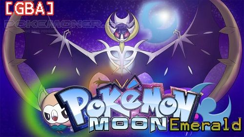 http://www.pokemoner.com/2016/11/pokemon-moon-emerald.html Pokemon Moon Emerald  Name:  Pokemon Moon Emerald  Remake From:  Pokemon Fire Red  Remake by:  Lukagba  Description:  The story is the same as Pokémon Emerald several Pokémon from 7th Gen and Alola Forms were added. The purpose of the hack is to make a Sideshow Showcase based on Emerald which has all Alola Pokémon captures. Characteristics: -Initials are: Litten Rowlet Popplio. - Around 60 pokémon of seventh generation (Status blows…