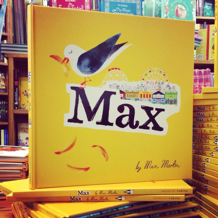 Max by Marc Martin is brightening up our shops!  #picturebook