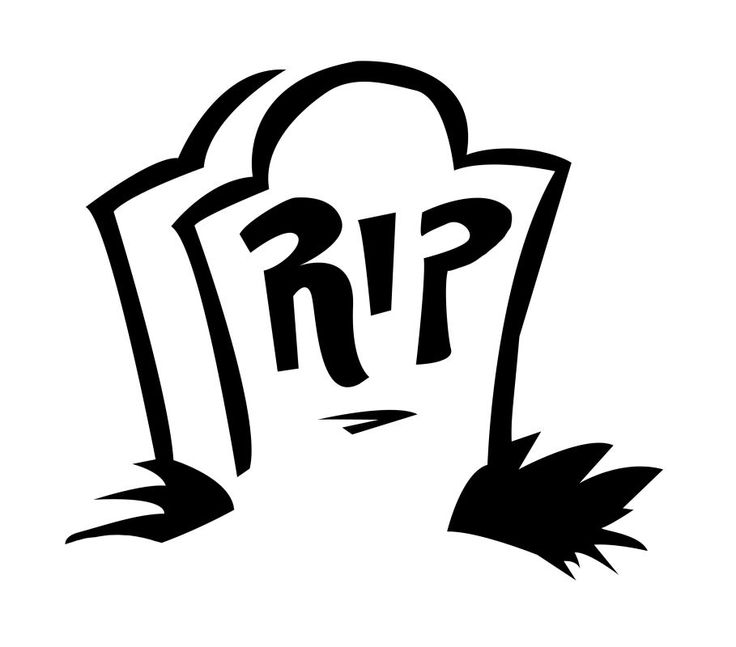 tombstone template for all your diy carving and halloween decoration needs 50 - Halloween Decoration Templates