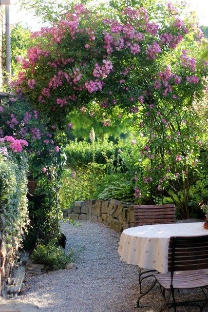 Ein Schweizer Garten: Der Garten auf einen Blick