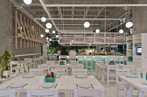Restaurante Bellopuerto Reforma,© Luis Gallardo