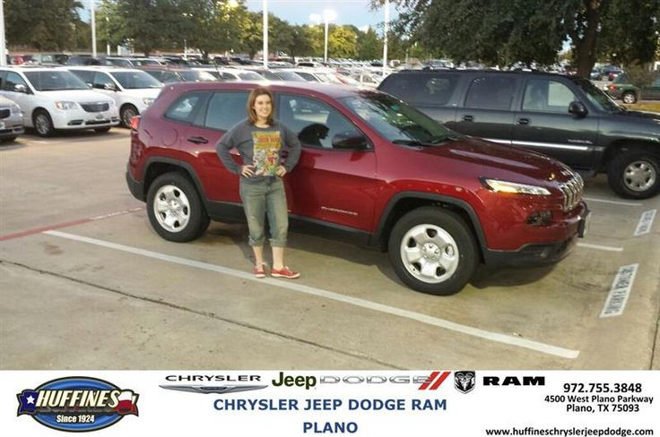 https://flic.kr/p/NYqvzq | #HappyAnniversary to Megan and your 2015 #Jeep #Cherokee from Ed Lewis at Huffines Chrysler Jeep Dodge RAM Plano! | www.deliverymaxx.com/DealerReviews.aspx?DealerCode=PMMM