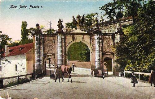 Alba Iulia - Poarta 1 - 1925