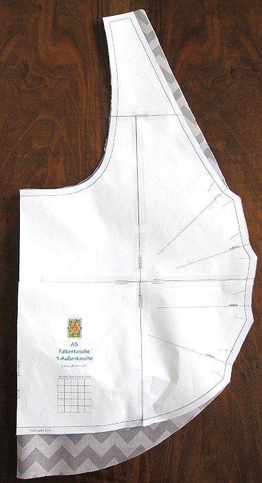 Taschen-Schnittmuster: AS – #sack #TaschenSchnittm…