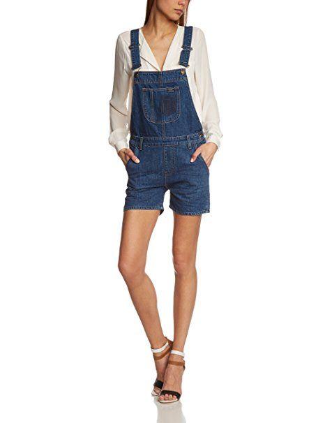 Cross Jeans Damen Latz Overall Eve, P 440, Gr. 26, Blau (authentic blue  used 005) - Jeanshose frauen jeanshosen damen jeans…   Jeanshosen Frauen  Trends ... 4441a523d4