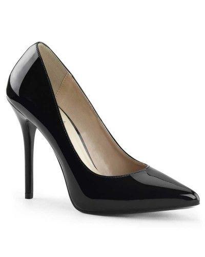 Zapatos beige vintage Pleaser para mujer 5zEm4l0