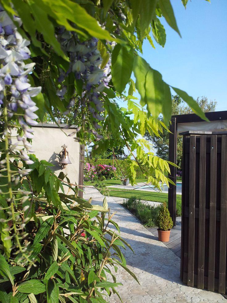 Een doorkijk maakt een tuin een stuk spannender!!