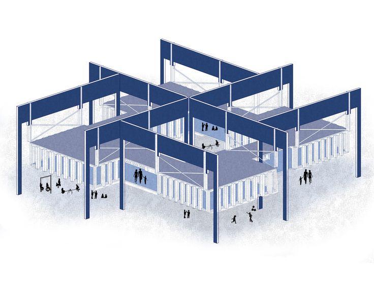 architecture  arquitectura isometric  isometrica 3d 2d