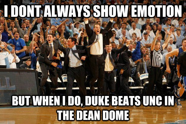 duke and unc basketball meme - Google Search