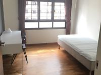 Common Room for rent @ Redhill RoadIn front of redhill mrt (3 min walk)SGD 900/month inclusive PUB and wifiLight cooking allowedSingle bed, air con, wardrobe, table.All furniture are still newMarket and NTUC are nearby only24 hour coffeeshop downstair