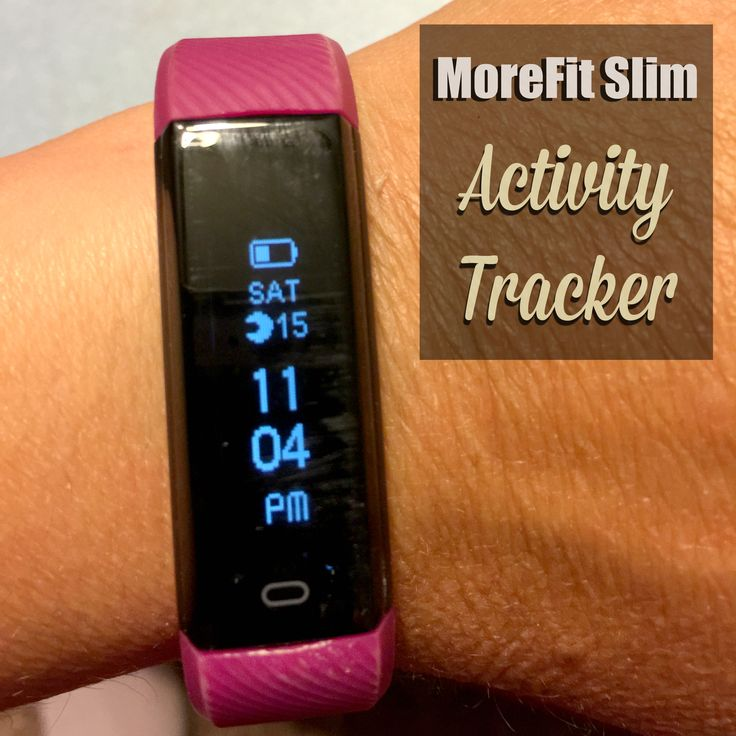 My Experience With The MoreFit Slim Activity Tracker ⋆ The Stuff of Success