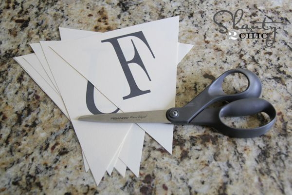 Can make banners for anything...has all the letters on this site.      provides you with the full alphabet so you can make a banner for any occasion!  This will be the easiest 10 minute project ever!