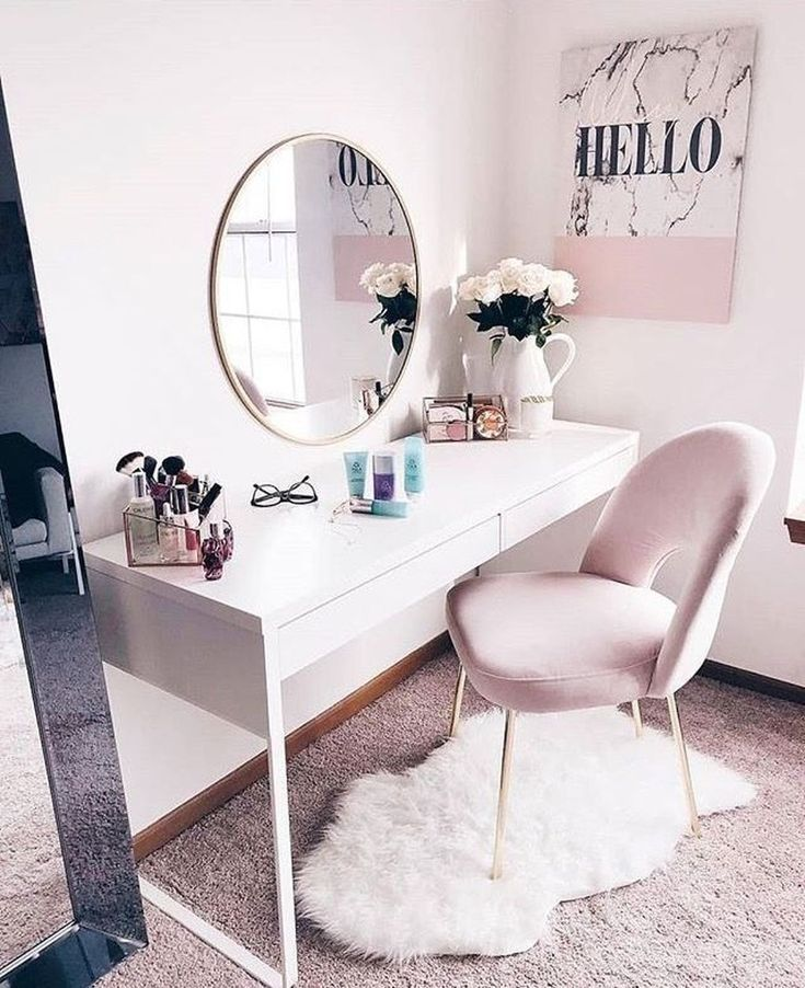 50 rosa Schlafzimmer Dekor, das Sie selbst ausprobieren