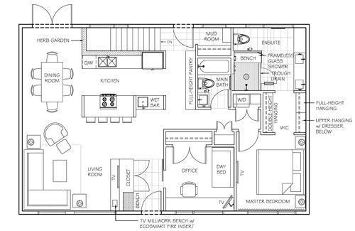 1000 images about small homes prefabs on pinterest Bungalow open concept floor plans