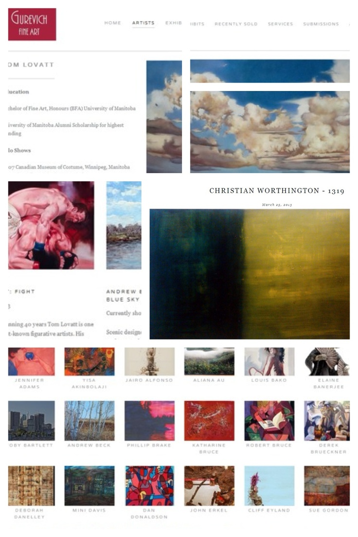 The NEW Gurevichfineart.com is up! Check it out at www.gurevichfineart.com and let us know what you think!