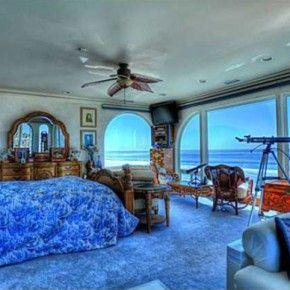 Appealing Ocean Themed Master Bedroom