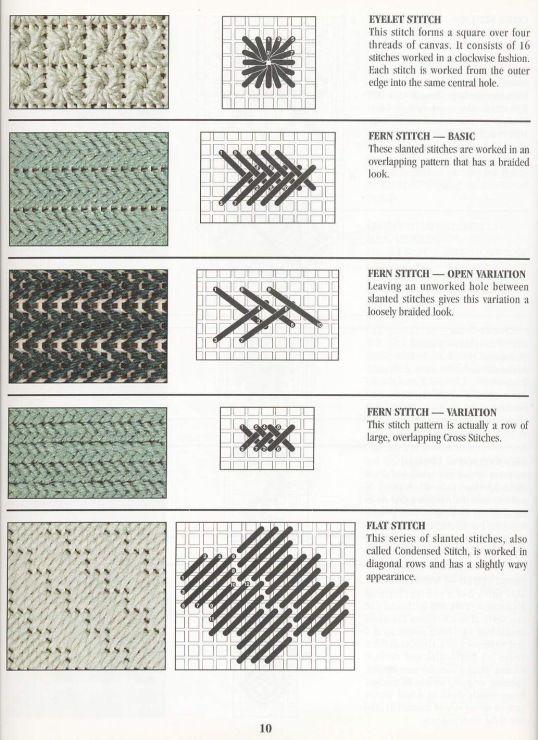 Gallery.ru / Фото #17 - Stitch Dictionary Plastic Canvas - Orlanda