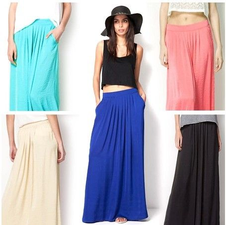 2014 Европейский стиль атласа районные женские юбки высшего качества длиной до пола длинные юбки случайные карманы плиссированные пляж юбка женщины S, M 631,65