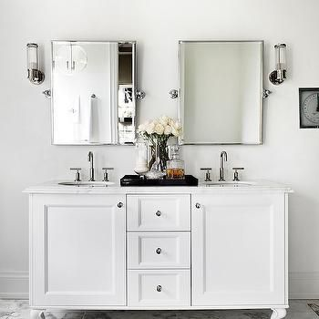 Small Double Vanity Contemporary Bathroom The Design Company