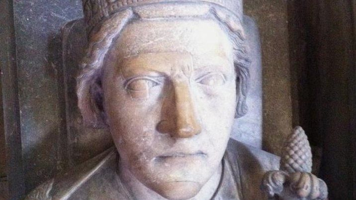 The mummified heart of England's King Richard I - better known as Richard the Lionheart - is analysed by forensic scientists.