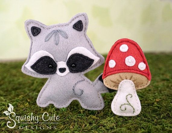 Orsetto cartamodello PDF  feltro Baby di SquishyCuteDesigns