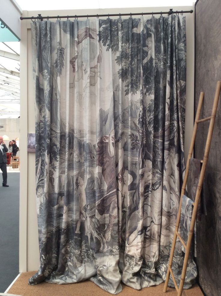 Venus Asleep Curtains at #Decorex2014