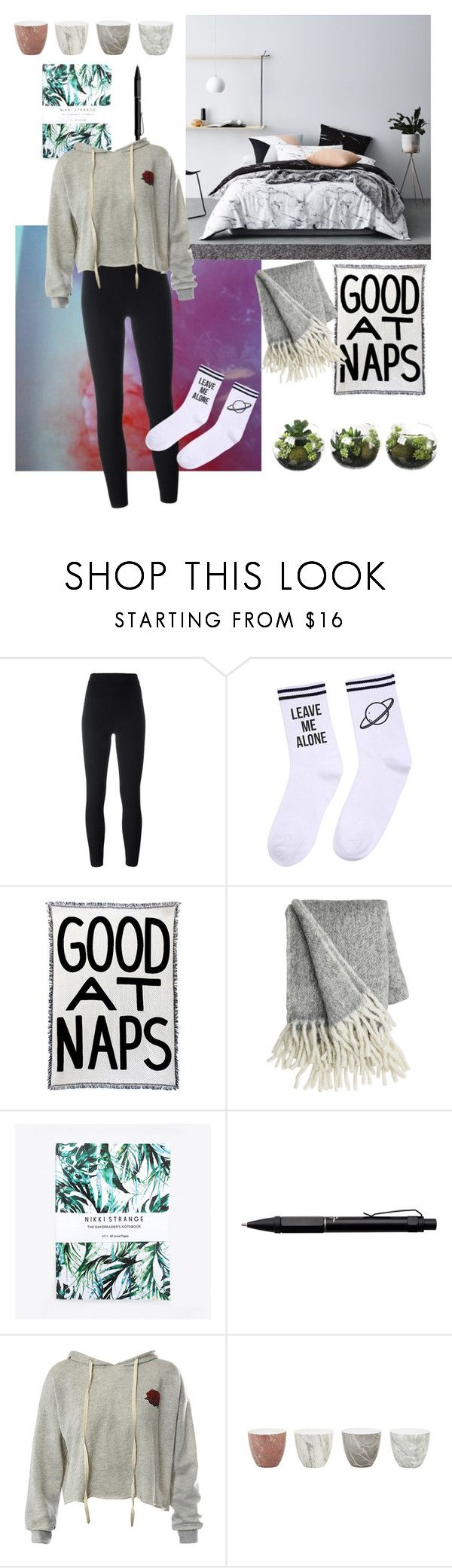 """""""good habits"""" by ginevra15 ❤ liked on Polyvore featuring Yeezy by Kanye West, Yeah Bunny, Nikki Strange, Fisher Space Pen, Sans Souci and Jayson Home"""