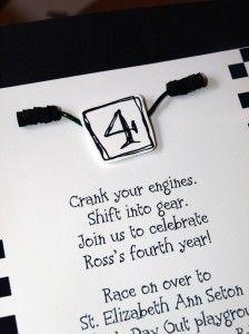 boy birthday ideas, invitations, Motorcross birthday, Supercross birthday