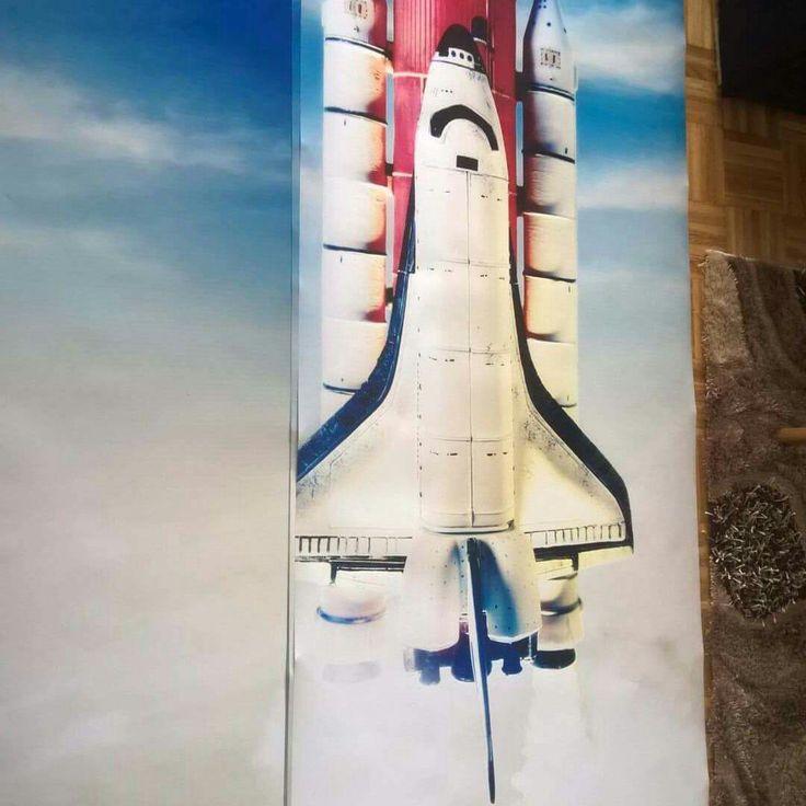 Space Shuttle Wallpaper, Space Shuttle Wall Mural, Space Shuttle Wall Decal,  Sky Wallpaper, Sky Wall Mural, Sky Wall Decal, Racket Wallpaper Part 54