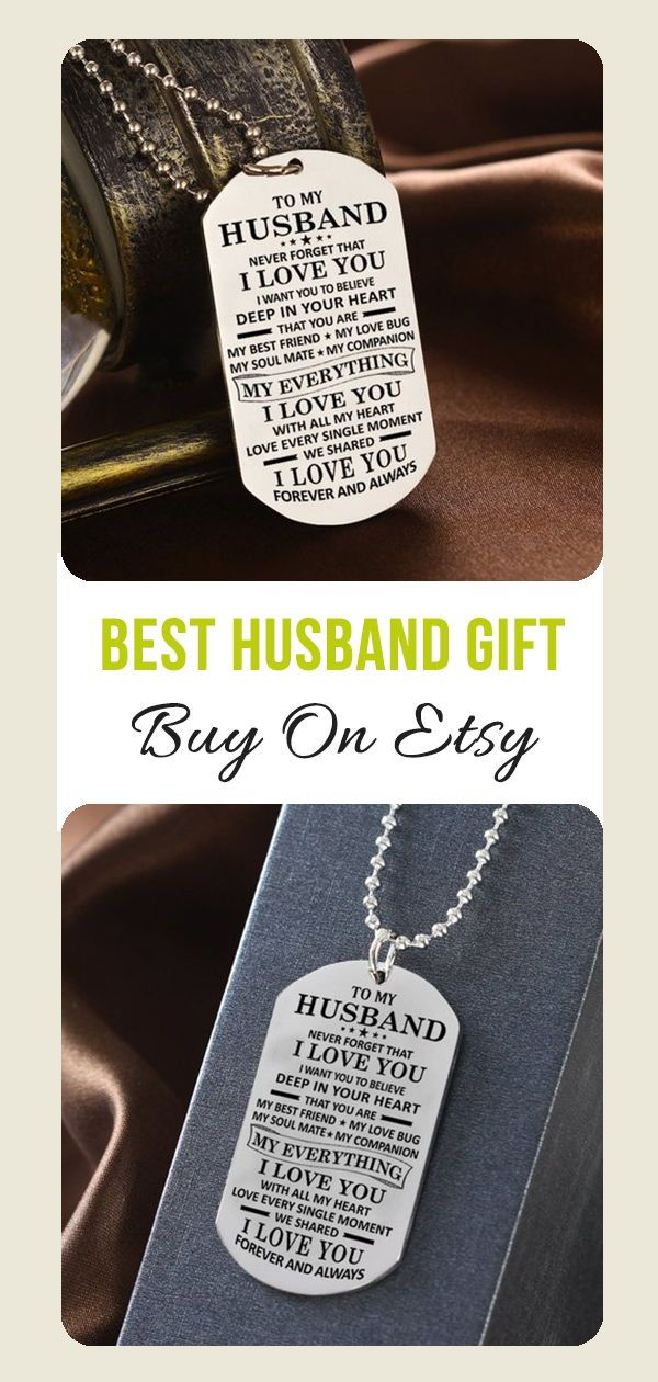 Beautiful To My Husband Necklace From Wife