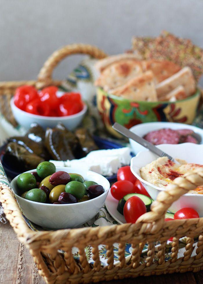 Quick  Easy Dinner: Mediterranean Meze Platter