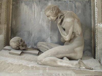 Cementerie Staglieno, Genova, Italia.