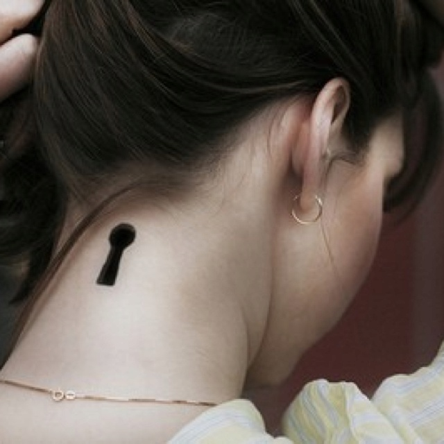 Simple and cute tattoo