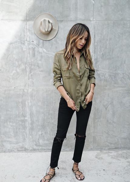 Verde militar: aprenda a valorizar seus looks com essa cor atemporal