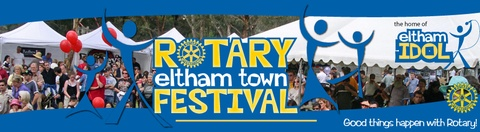 I have volunteered at the Rotary Eltham Town Festival over the last few years