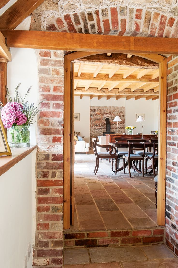 Converted oast house and granary doorway