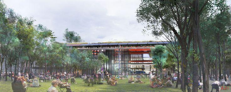 Atelier Jean Nouvel: Les Halles Redevelopment, France (2003)