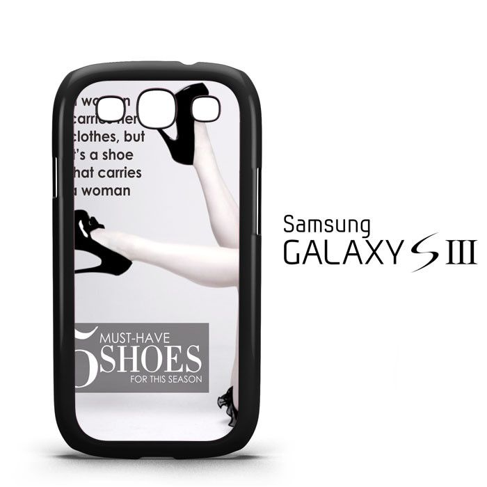 5 Must-Have Shoes for the Season Y2330 Samsung Galaxy S3 Case