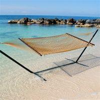 Caribbean Rope Hammock (Tan) $84.99