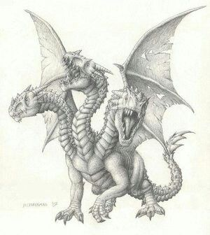 3 headed dragon