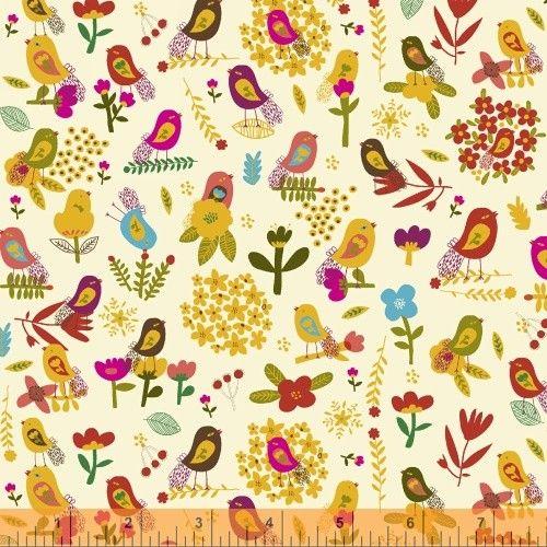 Patchwork anyag - Windham Fabrics - Petite Fleur 39522-4 - Art-Export webáruház