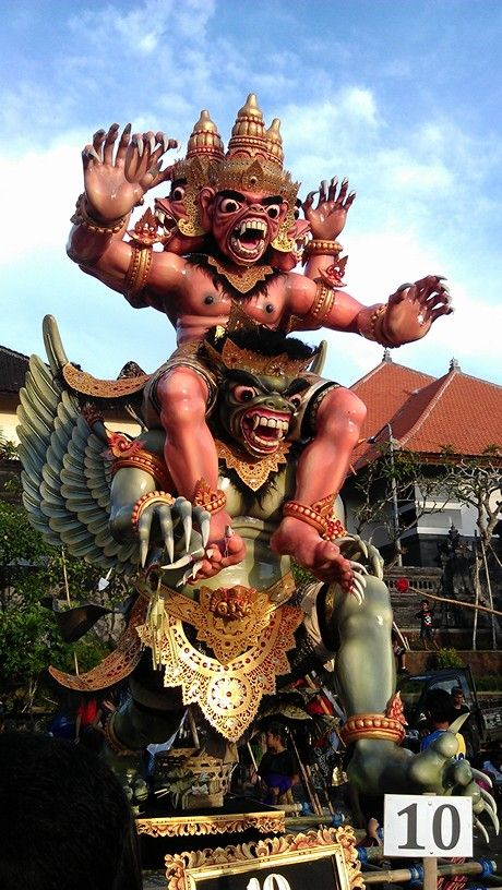 Ogoh-ogoh, Bali - Indonesia