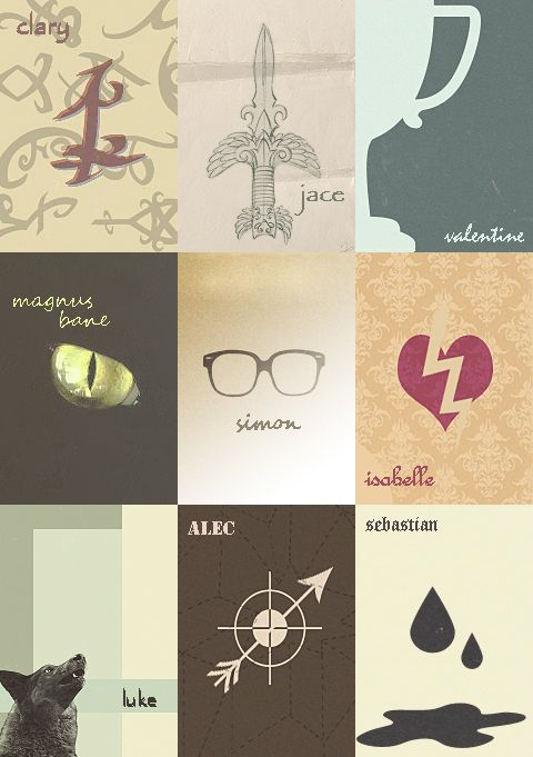 The Mortal Instruments Characters → Minimalist