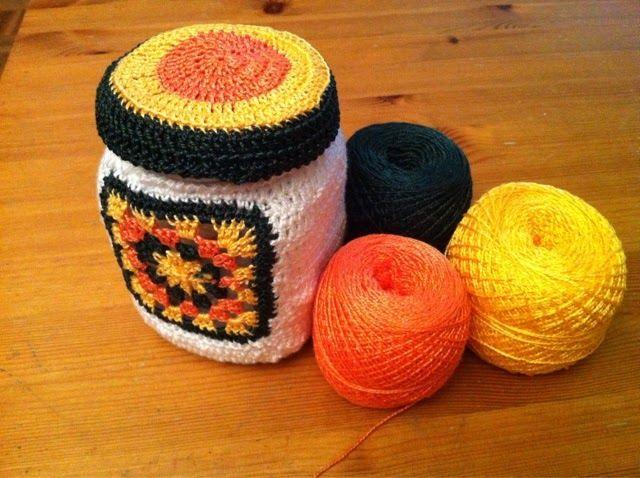 Con estas manazas: Reciclando que es ...el futuro!  #crochet #ganchillo