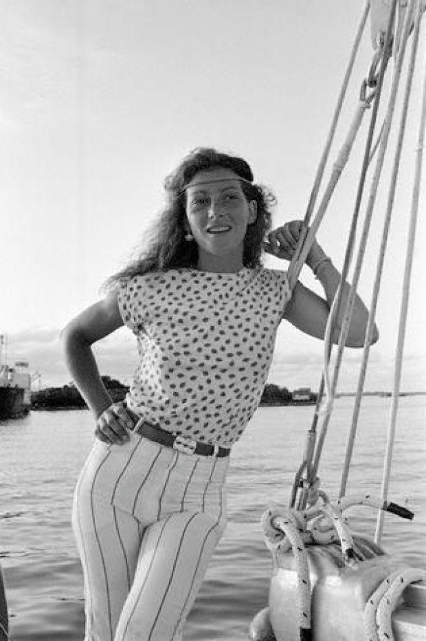 championne de voile Florence Artaud