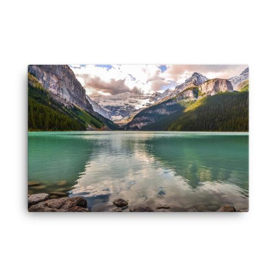 Lake Louise Wall Art Mountain Lake Photography Print Banff Etsy Lake Photography Waterfall Photography World Photography