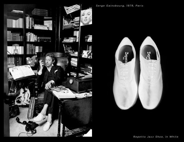 mettomot: a pair of shoes: serge gainsbourg and his repetto