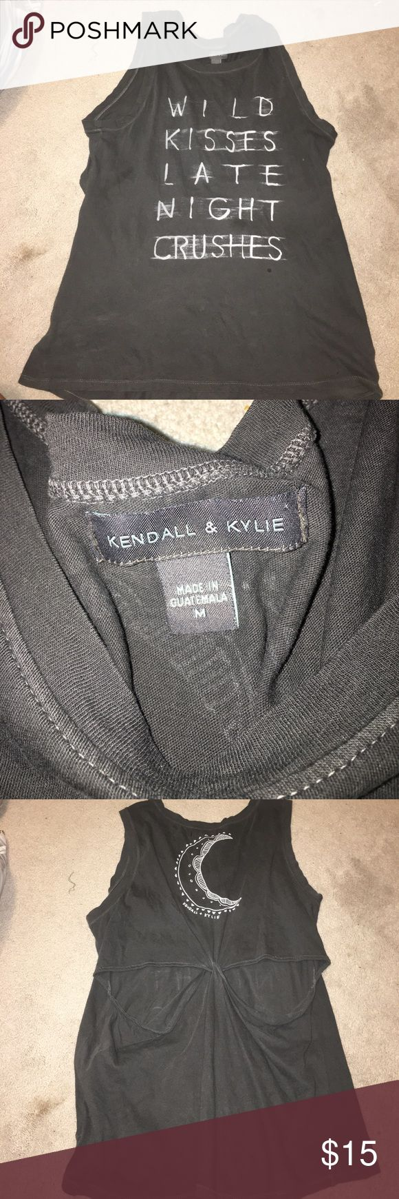 Kendall and Kylie pacsun shirt size M Worn a few times!!! From Kendall and Kylie Jenner's pacsun line.... super cute size M Kendall & Kylie Tops Tank Tops